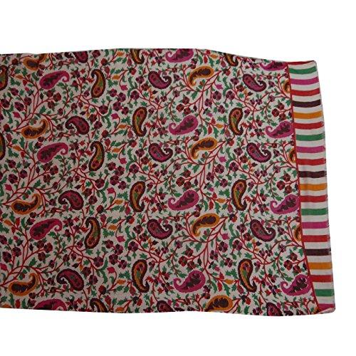 Wrap Femmes Imprimé Mode Rose Blanc Head Sarong Echarpe Off Et Écharpe Paréo Coton Aboutyou pwCqff