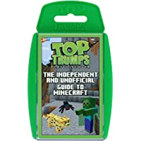 Winning Moves Top Trumps Independent and Unofficial Guide to Minecraft Card Game