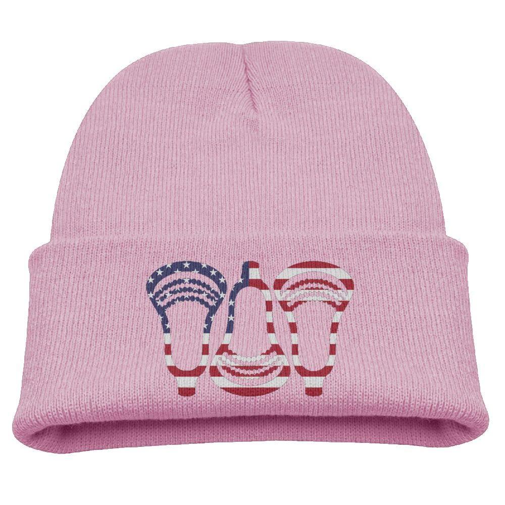 Banana King Lacrosse Sport Baby Beanie Hat Toddler Winter Warm Knit Woolen Cap for Boys//Girls
