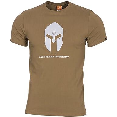 spartan t shirt  : Pentagon Men's Ageron T-Shirt Spartan Helmet Coyote ...