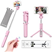 Selfie Stick Tripod with Remote Bluetooth - VANZAVANZU New Best Selfie Stick Monopod Tripod for iPhone 6s Plus 7 Plus…