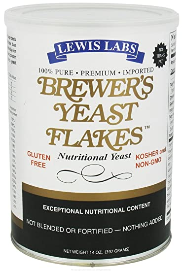 Image Unavailable. Image not available for. Color: Lewis Labs - Brewer's Yeast Flakes Nutritional ...