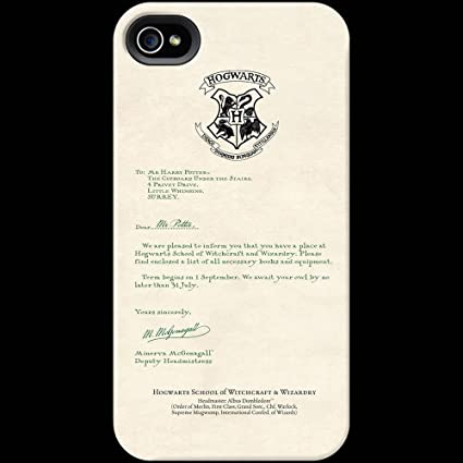 Amazon.Com: Harry Potter'S Hogwarts Acceptance Letter Phone Case
