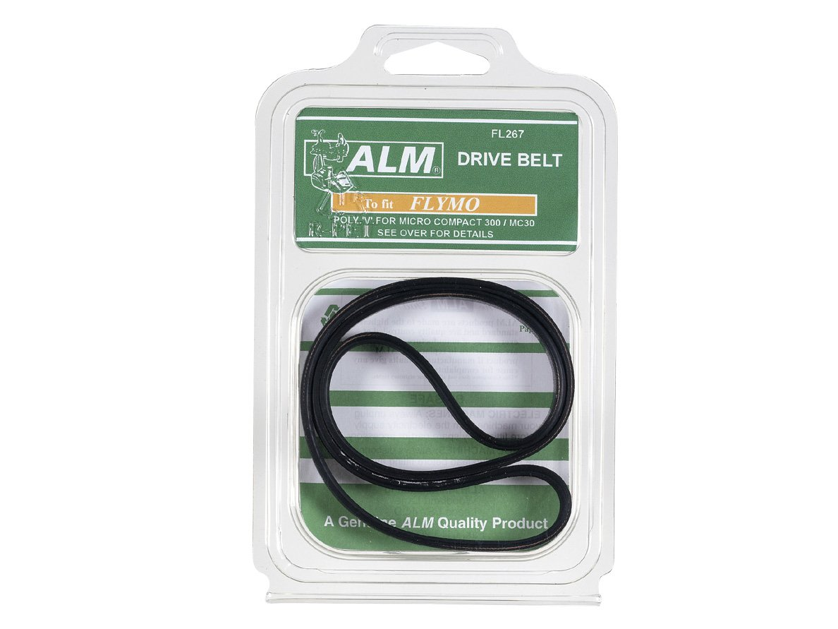 Alm Manufacturing FL267 Poly V-Belt to Suit Flymo Toolbank ALMFL267