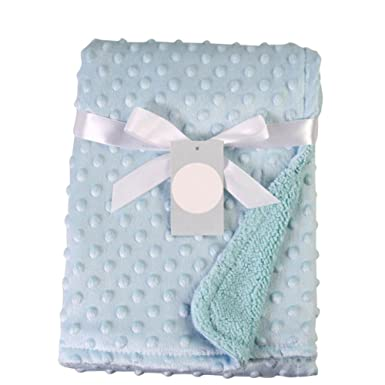 a1f96755517fd Doubleer Newborn Baby Boy Blanket Soft Fleece Thermal Blanket Baby Girls  Wrapped Swaddling Bedding Set  Amazon.co.uk  Clothing