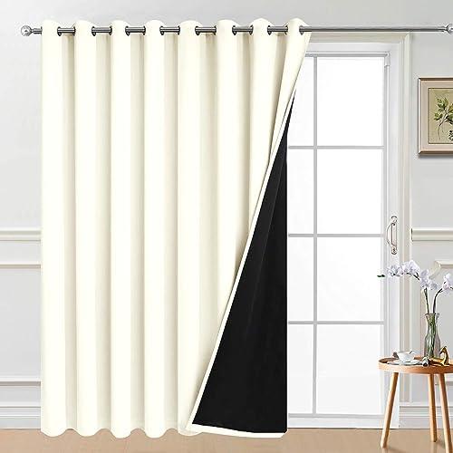 Yakamok 100 Wide Blackout Curtain 100 x 96 Inches - a good cheap window curtain panel