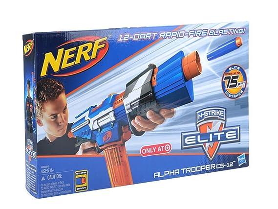 Nerf alpha trooper cs softdartblaster mit rapidfire