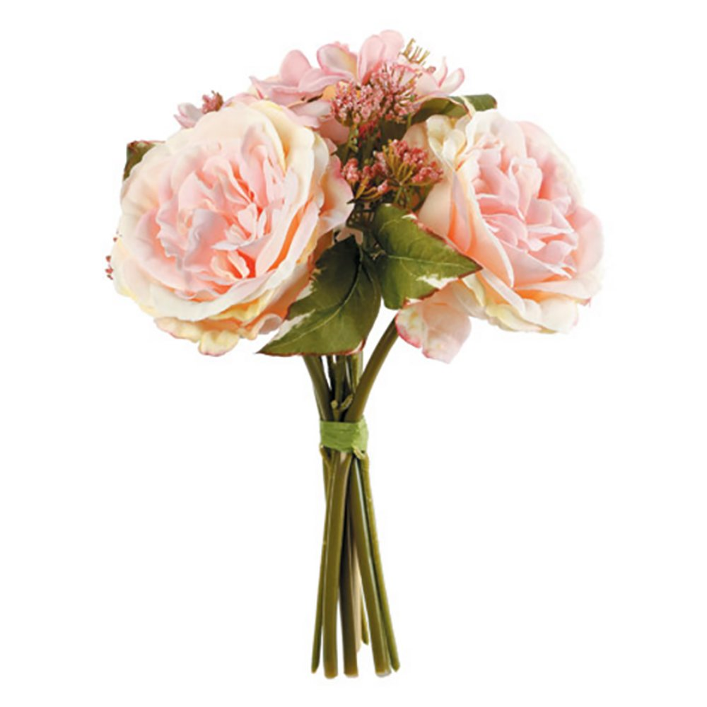 RetailSource Spring Floral 9' Artificial Queen Rose Drop-in (24 Pack) DC-8915x24