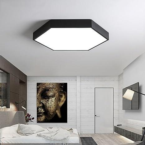 joeyhome Fácil geométrico - Lámpara LED de techo Cocina ...