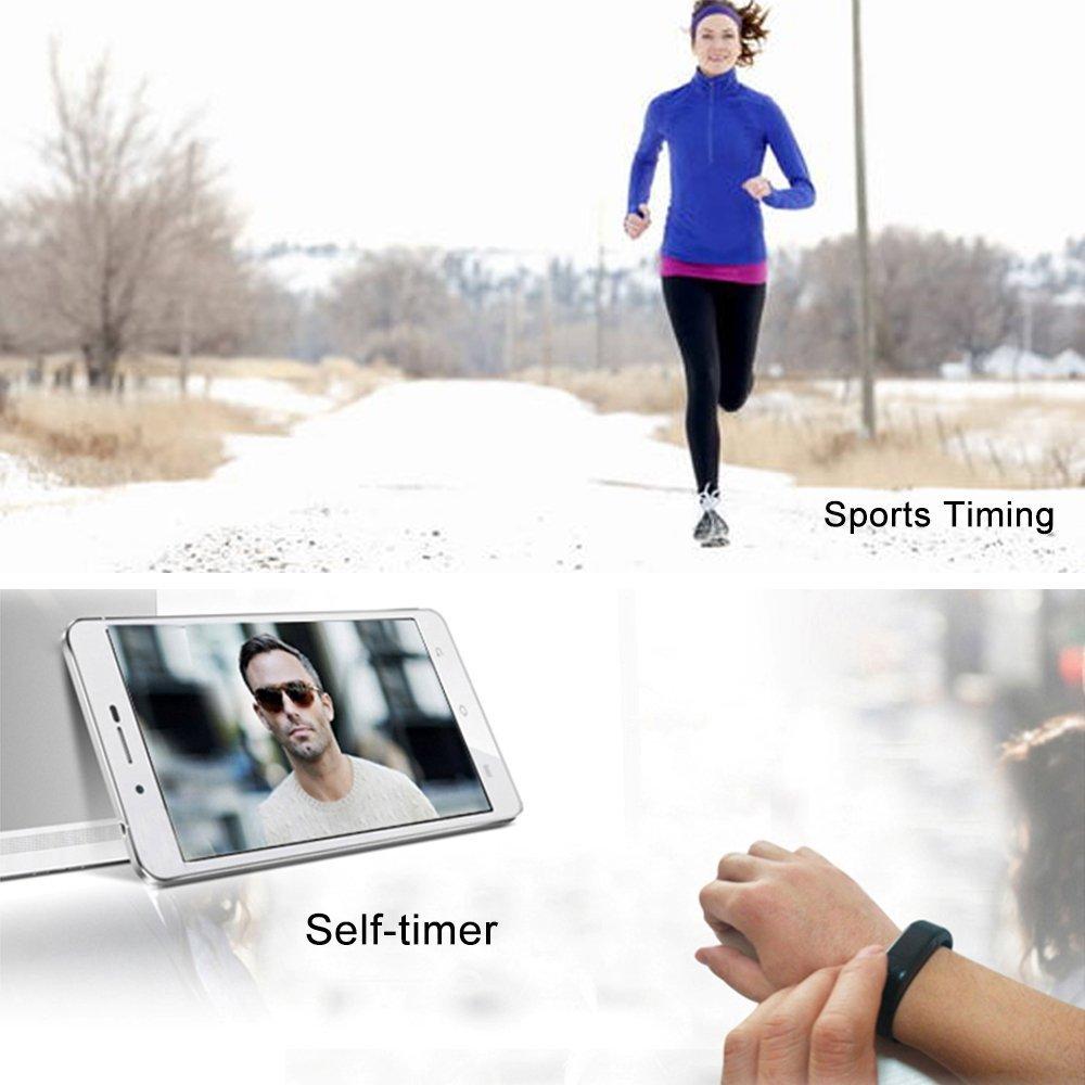 Amazon.com: CEStore Ultra Light Wireless Bluetooth 4.0 I5 Wristband Smart Watch w/Health Sport Monitoring/Pedometer/Sleep Monitoring/Sedentary Reminder/Call ...