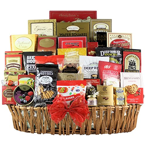 GreatArrivals Magnificent Munchies Thank You Snack Basket, 13 Pound by GreatArrivals Gift Baskets
