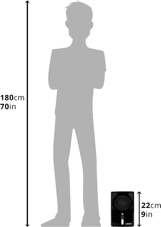 Barco Port/átil y Mini Ideal para Cocina Suciedad y Moho Oficina Duronic DH05 Deshumidificador de Aire El/éctrico Peque/ño 22.5W para Humedad Capacidad de 500ml Autoapagado Garaje Caravana Trastero Armario Dormitorio