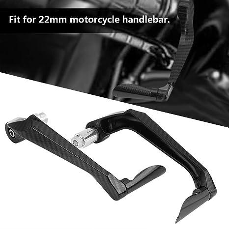 Fydun Embrague de freno motocicleta Embrague de freno Protecci/ón de mano Resistente a roturas Protecci/ón Estilo de fibra de carbono Azul