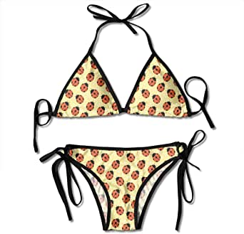 Amazon.com: Custom Adjustable Women's Bikini Set,Cute Bugs