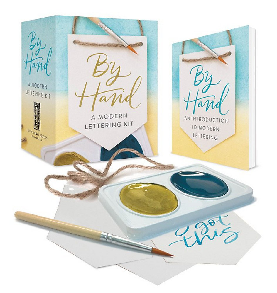By Hand: A Modern Lettering Kit (Miniature Editions) (Inglés)