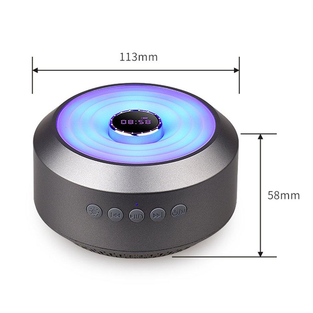 Colorido Reloj Bluetooth Altavoz Al Aire Libre De Luz De Colores Impermeable Impermeable Bluetooth Teléfono Subwoofer 58 * 113 Mm: Amazon.es: Hogar