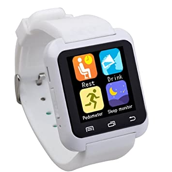 EasySMX Bluetooth Smart Watch U80 Wrist Watch Sport for Smartphones IOS/Android iPhone 4/