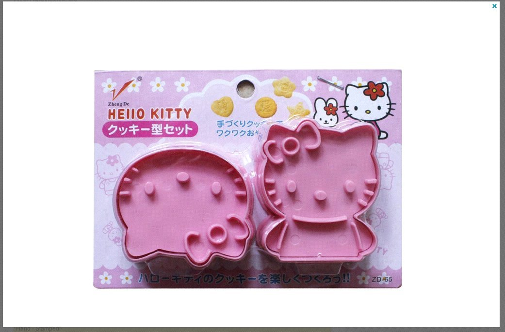 Kitchen Dining Bar Hello Kitty Candy Chocolate Mold Ice Tray Mini