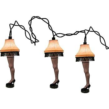 Amazon.com: A Christmas Story Kurt Adler UL 10-Lights Leg Lamp Light ...