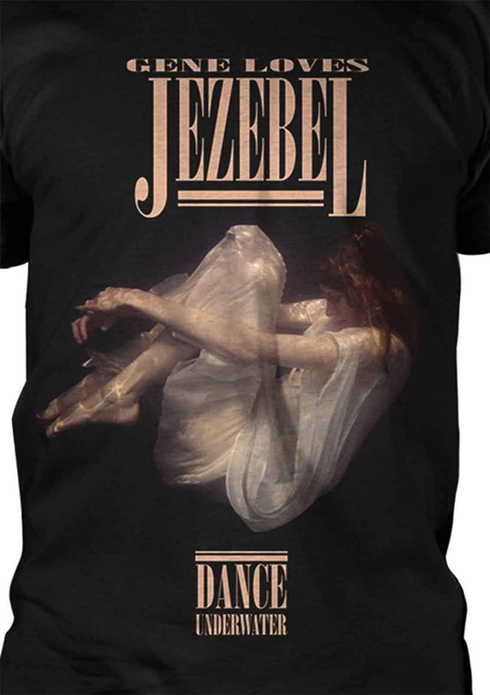 NEW /& OFFICIAL! Gene Loves Jezebel /'Dance Underwater/' T-Shirt Black