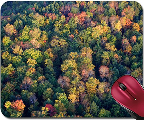 Liili Mousepad An aerial view of a hot air balloon floating over the Vermont country side 29163556 Vermont Cabinet