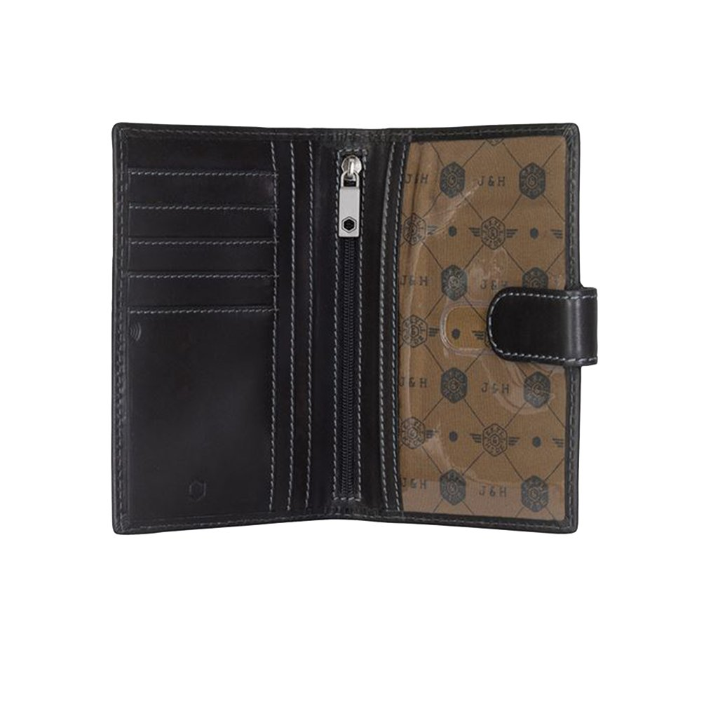 Black Jekyll and Hide Texas Passport Cover 15 cm