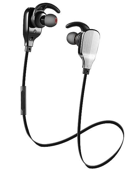 Auriculares Bluetooth, shareconn inalámbrico Deportes Auriculares Auricular Bluetooth 4.1 con Micrófono ligero HD Auriculares estéreo