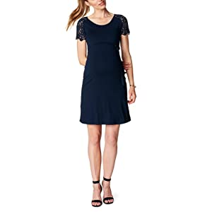 Esprit Maternity Dress Ss P84278, Vêtements de Maternité Femme