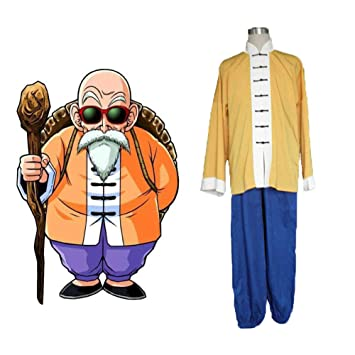 GGOODD Anime Dragon Ball Master Roshi Cosplay Costume ...