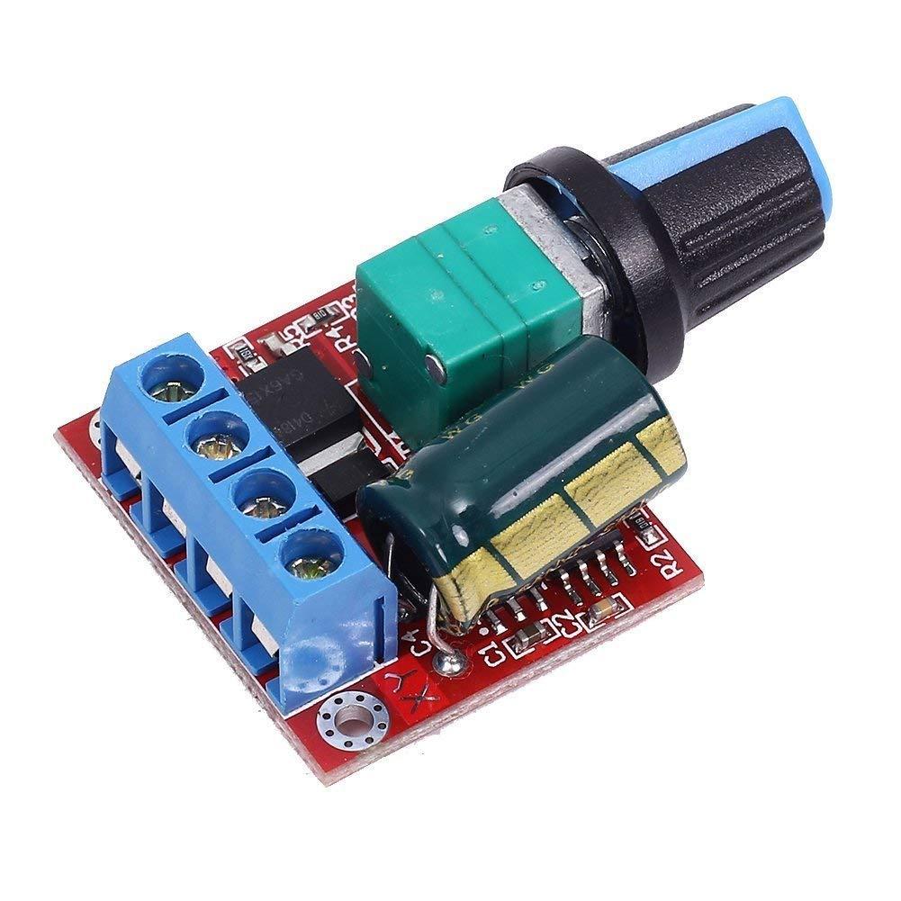 DC 5V-35V 5A 20khz LED PWM DC Motor Controller Speed Regulation Dimmer Switch