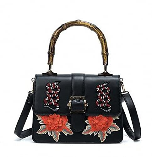 543aaa353c81 Luxury Handbags Women Bags Designer handbag Women Embroidery Flower ...