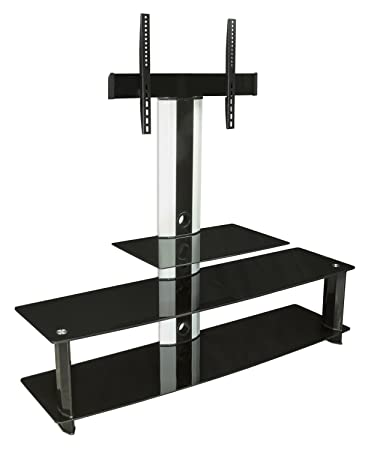 mountit mi869 tv stand with mount center for flat