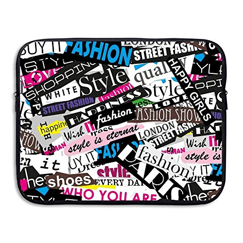 Summer Moon Fire Laptop Sleeve Case Cool Red Octopus Neoprene Carrying Bag Briefcase Handbag for 13 Inch for All Computer Ultrabook/Lenovo Dell/MacBook Pro/MacBook Air