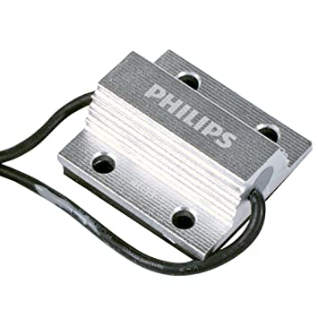 Philips warning canceller Iluminación de señalización e interior LED 12956X2 - bombilla para coches (5W, T10, Luz interior, Numberplate light): Amazon.es: ...