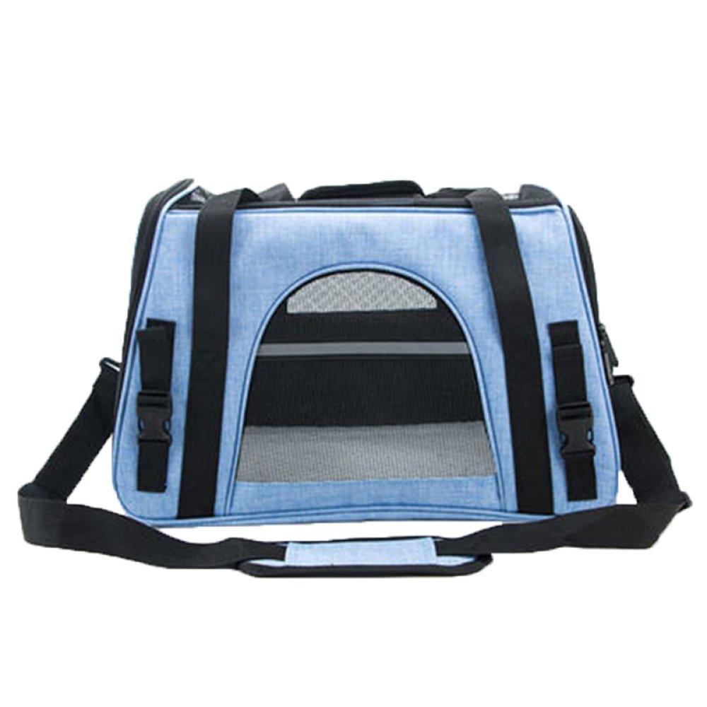 bluee Shoulder Bags bluee Shoulder Bags XCF WLQ Pet Backpack Outgoing Cat Bag Travel Bag Teddy Backpack Dog Pack Pet Products