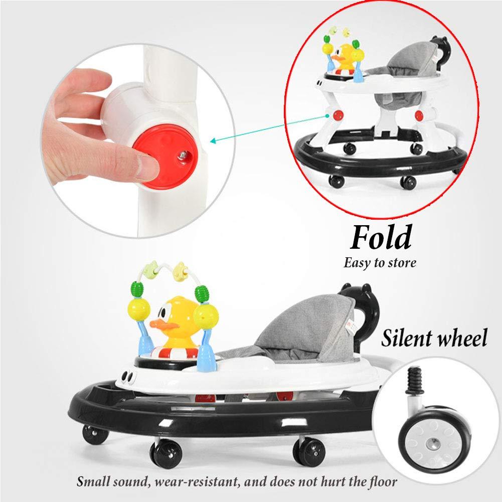 YOLL Altura-Ajustable del Bebé Andadores, 2 En 1 Bebé Andadores ...