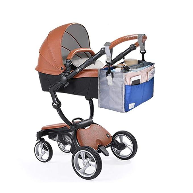 Hualieli Cochecito de bebé Bolsa de almacenamiento Accesorios para trolley Bolsa de momia para padres Bolsa de viaje de bebé para el camino: Amazon.es: ...