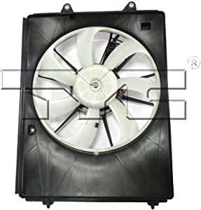 TYC 611490 Right Replacement Cooling Fan Assembly for Acura MDX