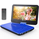 """Amazon Price History for:DBPOWER 10.5"""" Portable DVD Player with Swivel Screen, 3 Hours Rechargeable Battery, SD Card Slot and USB Port - Blue"""