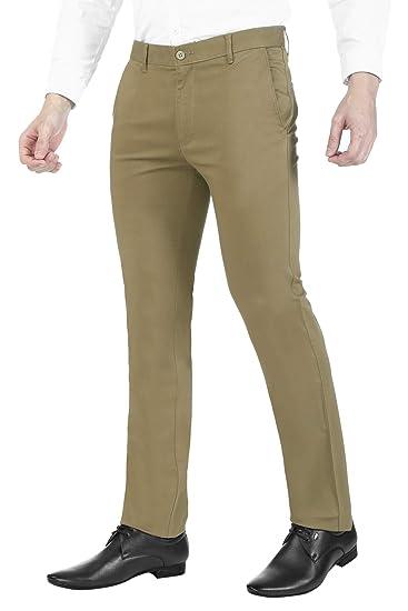 conversazione segretario allenatore  Buy Ruan 100% Cotton Formal Trousers for Men Slim fit, Mens Trousers  Formal, Formal Chinos Trousers for Men (Non-Stretch) (Size30-40) at  Amazon.in