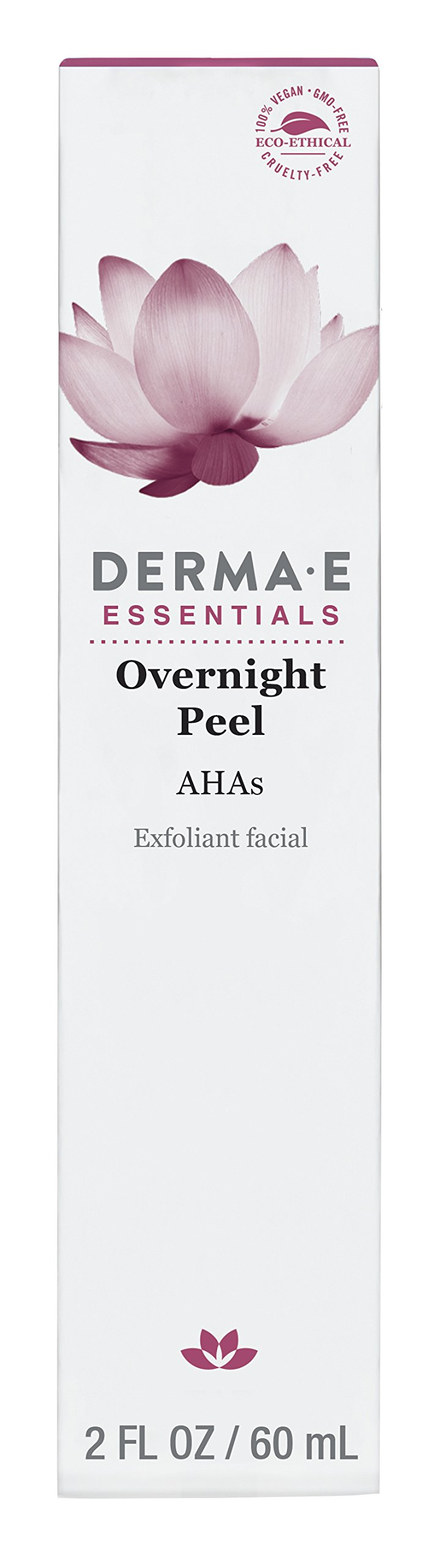 DERMA E Overnight Peel with Alpha Hydroxy Acids 2oz by DERMA-E (Image #3)