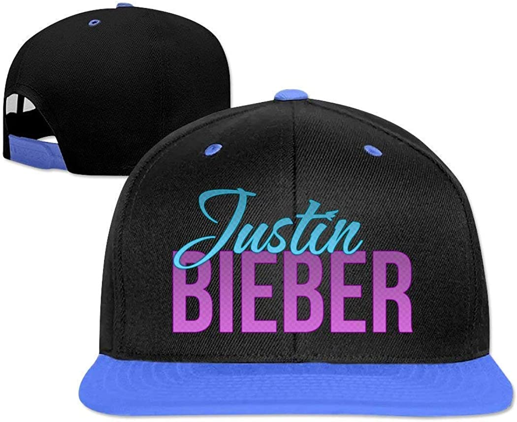 Justin Bieber Fashion Theme Fashion Adjustable Hip-Hop Cap: Amazon ...