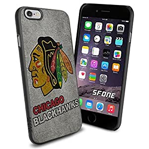 Chicago Blackhawks NHL, #1290 Hockey iPhone 6 (4.7) Case Protection Scratch Proof Soft Case Cover Protector by ruishername