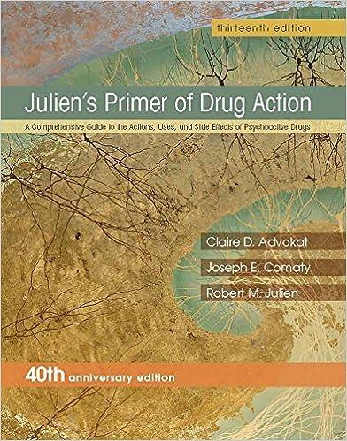 Julien's Primer of Drug Action book pdf