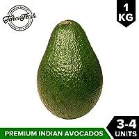Urban Platter Fresh Avocado, 1Kg [3-4 Units of Fresh Avocado Fruit, Heart-Healthy, All Natural]