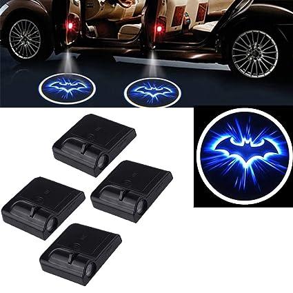 Luz de la puerta del proyector del coche Led, 4 piezas Puerta de ...