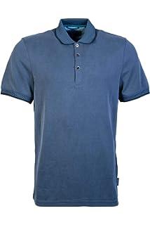 0dd93c5e0843 Ted Baker Mens Setta Ribstart Polo Shirt in Navy Blue 3XL  Amazon.co ...