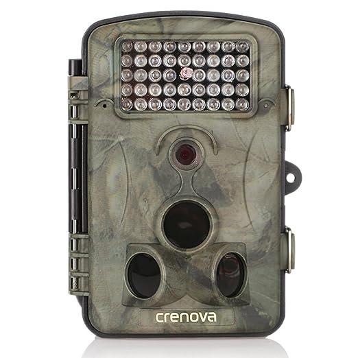 53 opinioni per Crenova Fotocamera caccia Macchinefotografichedacaccia 12MP 1080P in HD con