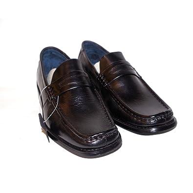 Men's Franco Varucci (#S/SAM-02)  Color Brown  Men's Classic Penny Loafer Dress Shoes
