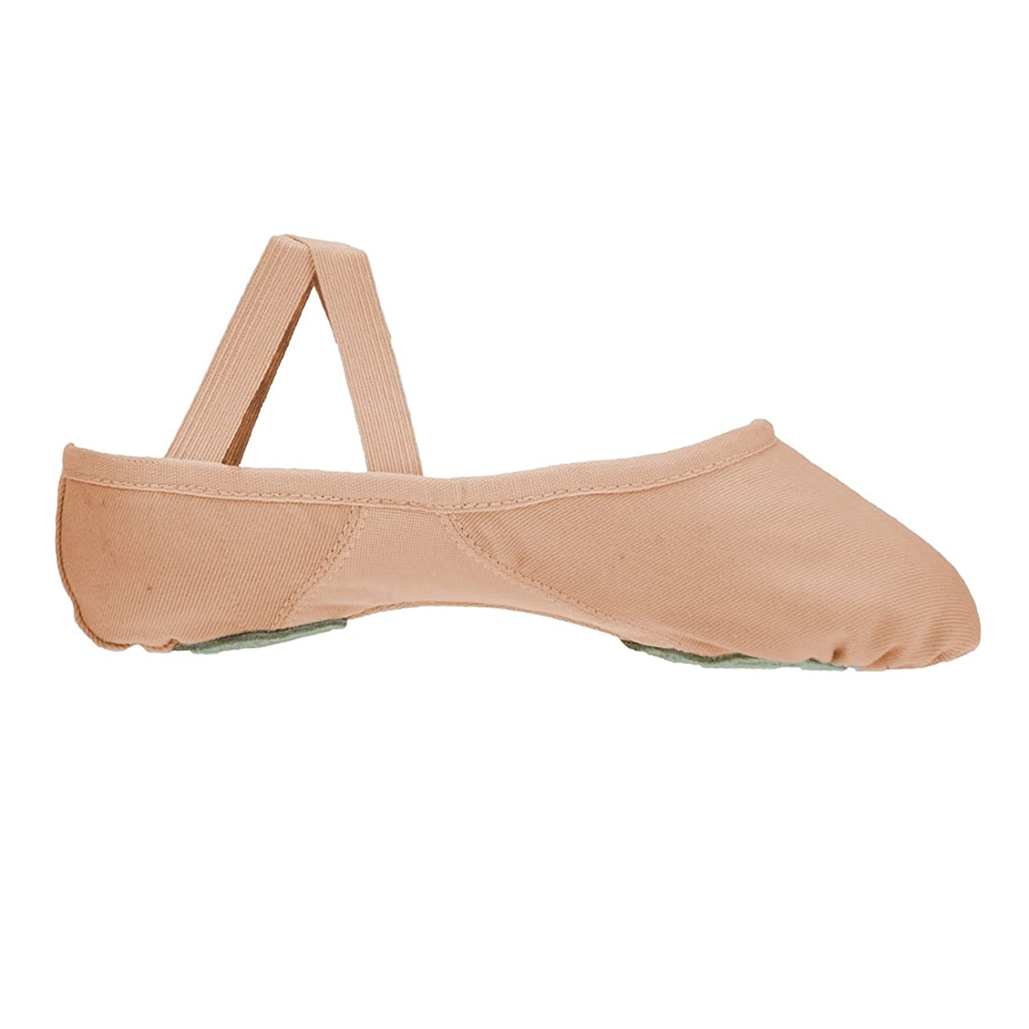 Bloch 210 Proflex de lona zapatos de ballet, Rosado, 2 UK B Fitting